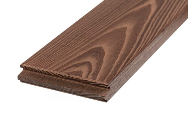 Thermory Ash Decking 5/4x5 - No Groove