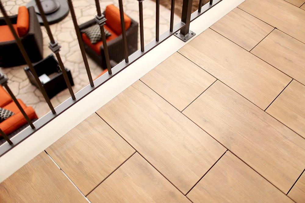 MBrico Wood Effect Deck Tiles | MBrico Porcelain Decking Distributor | Low Maintenance Deck Tiles | Wood Look Deck Tiles