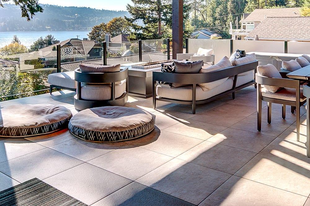 MBrico Deck Tile Distributor | MBrico Concrete Effect Deck Tiles | Italian Porcelain Deck Tiles | Beautiful Porcelain Tile Decks