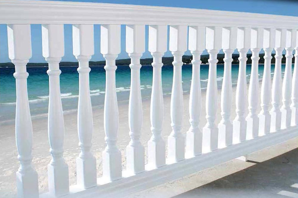 Admiral Specialty Vinyl Railings | Traditional Look Vinyl Railings | Balustrade Vinyl Railing System | Specialty Vinyl Railing Distributor