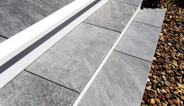 MBrico Porch Flooring | Porcelain Porch Tiles | Slip Resistant Tile Decking | MBrico Tile Distributor | New York & New England