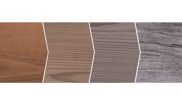 Thermory Aged Ash Color Evolution | Aging Of Thermally Modified Wood