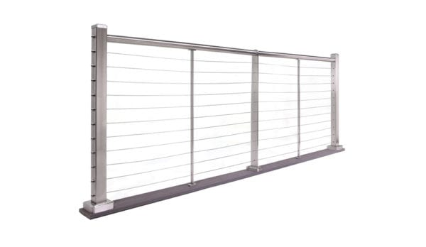 InvisiRail Cable Railing System | Stainless Steel Cable Railings | Modern Cable Railing System | InvisiRail Distributor New England