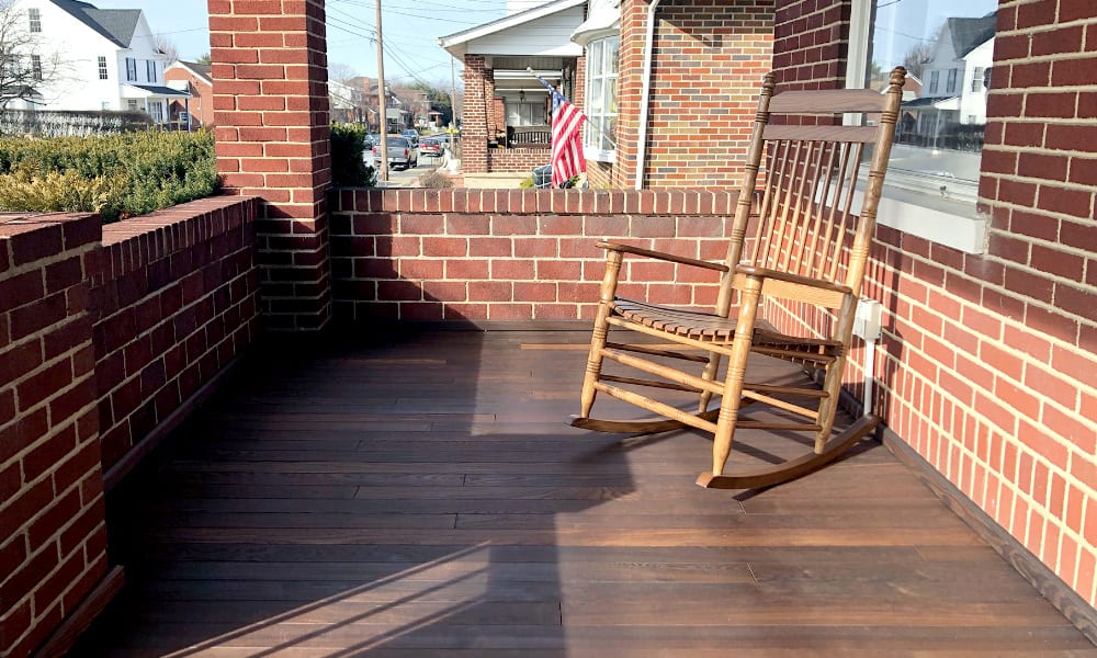 New York Thermory Ash Porch Flooring Distributor | Thermally Modified Porch Flooring | New England Thermory Ash Porch Flooring Distributor
