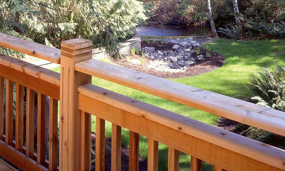 New York Western Red Cedar Railings Distributor | Western Red Cedar Railing System | Wester Red Cedar Railing Components | New England