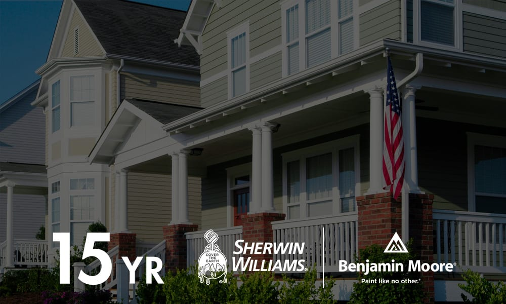 Sherwin-Williams Approved Applicator   Sherwin-Williams Assured Applicator Certification   Factory Finishing 15-Year Warranty