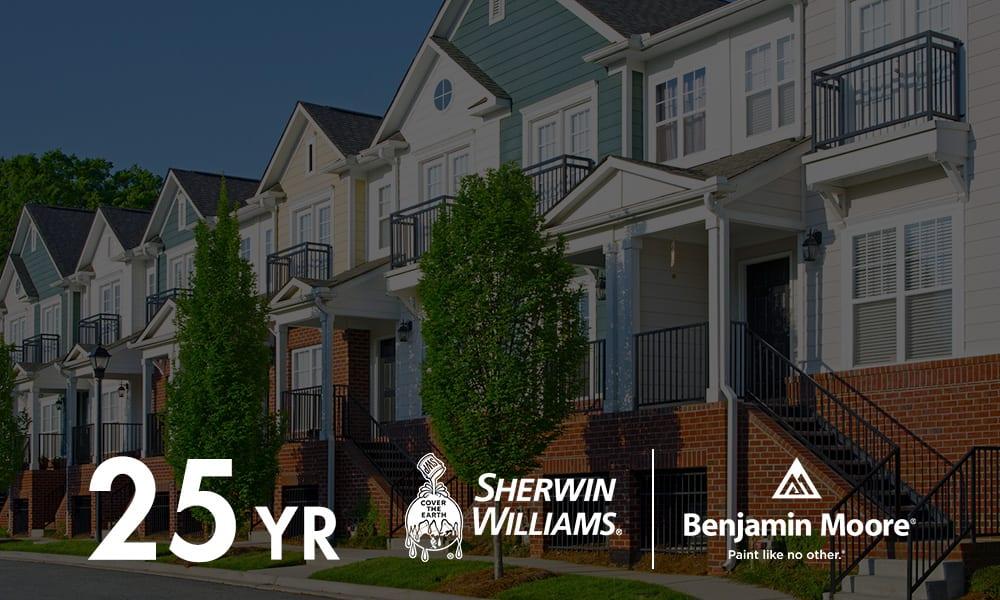 Sherwin-Williams Approved Applicator   Sherwin-Williams Assured Applicator Certification   Factory Finishing 25-Year Warranty