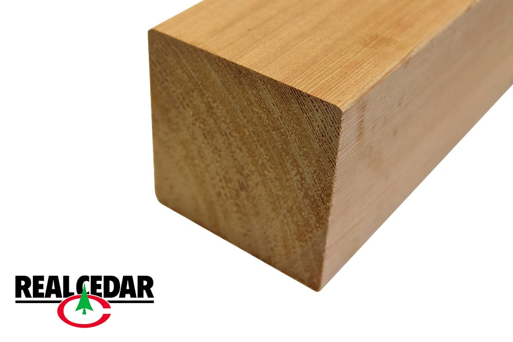 Real Cedar Railing Components | Cedar Deck Railings | Western Red Cedar Railing Kits | New England Real Cedar Distributor