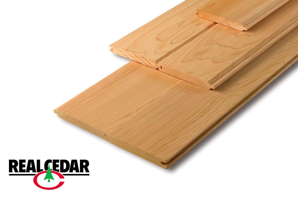 Western Red Cedar Siding | V-Joint Cedar Siding | Western Red Cedar V-Joint Siding | Real Cedar Siding Distributor