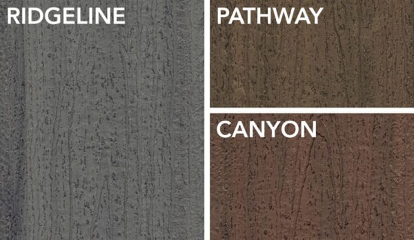Deckorators Trailhead Color Options | Composite Decking Color Options | Deckorators Distributor New England