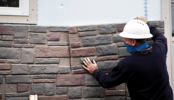 Stone Veneer Siding Installation | Commercial Stone Cladding | Stone Siding Panels Exterior | Stone Veneer Siding Panels