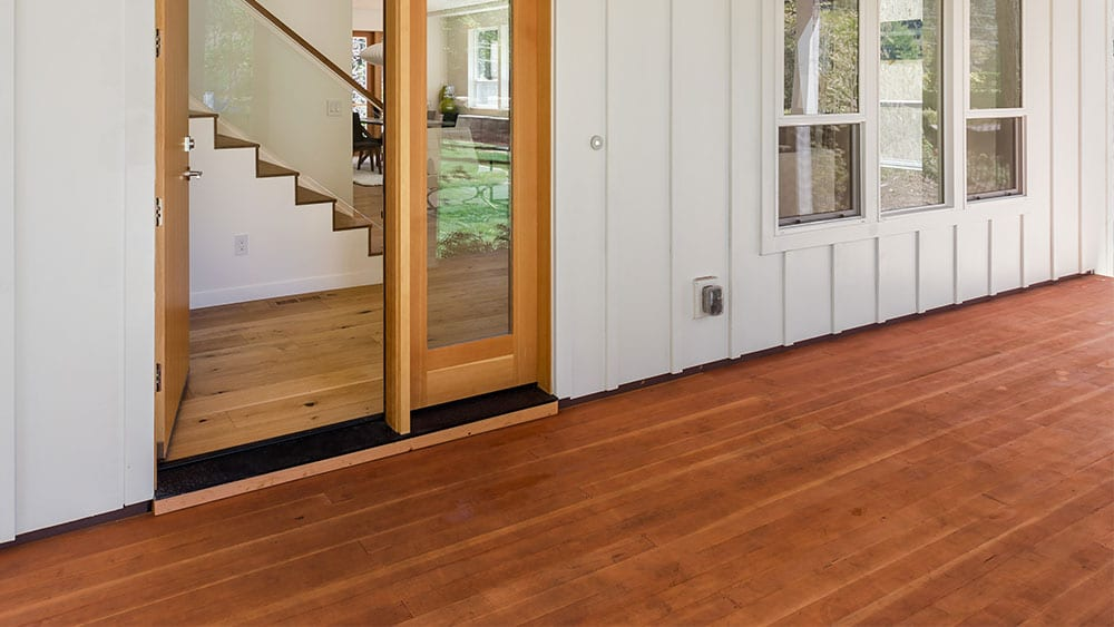 Exotic Wood Porch Flooring | Tropical Hardwood Porch Flooring | Red Meranti Mahogany Porch Flooring | Red Balau Hardwood Porch Flooring