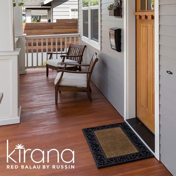 Red Balau Porch Flooring | Indonesian Hardwood Porch Flooring | Exotic Hardwood Porch Flooring Distributor | New England Kirana Porch Flooring Distributor