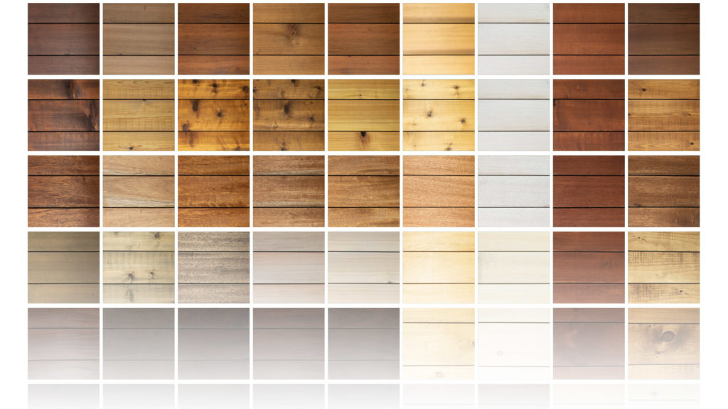 Factory Finishing Color Options | Custom Wood Finishing | Wood Protection Oil | Summit Exterior Cladding System